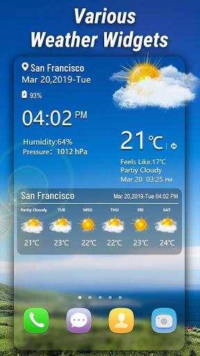 मौसम - Weather स्क्रीनशॉट 2