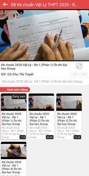 Ôn Thi Đại Học - Luyện thi THPT (Online - Offline) 3 تصوير الشاشة