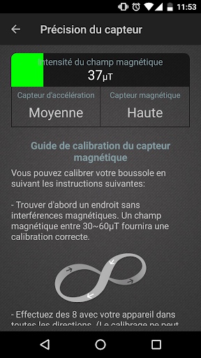 Boussole Niveau et GPS screenshot 3