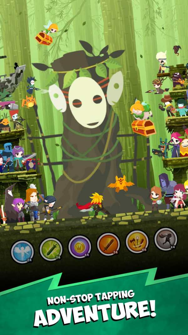 Tap Titans 2: Legends & Mobile Heroes Clicker Game screenshot 1