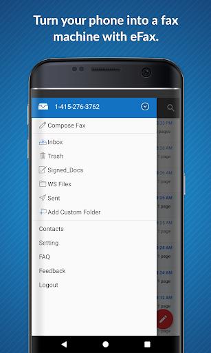 eFax: Send Fax from Phone (Official Fax App) 1 تصوير الشاشة