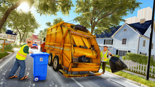 Garbage Truck Driving Simulator - Truck Games 2020 screenshot 1