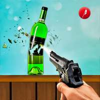3D Penembakan Botol Game Baru: Game Gratis Offline on 9Apps