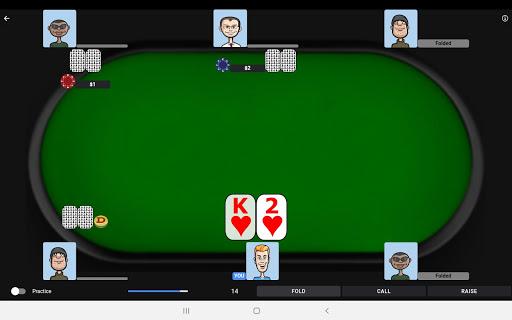Poker Trainer - Poker Training Exercises 7 تصوير الشاشة