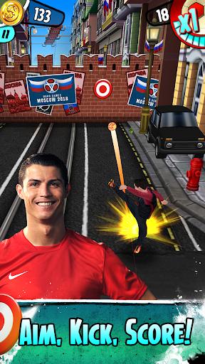 Cristiano Ronaldo: Kick'n'Run – Football Runner 1 تصوير الشاشة