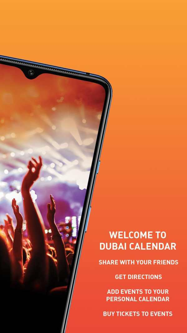 Dubai Calendar screenshot 2