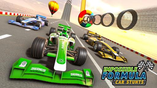 Formula Car GT Racing Stunts- Impossible Tracks 3D screenshot 6