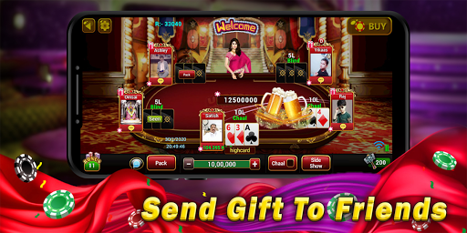 Universal Teen Patti - Indian Poker Game screenshot 3