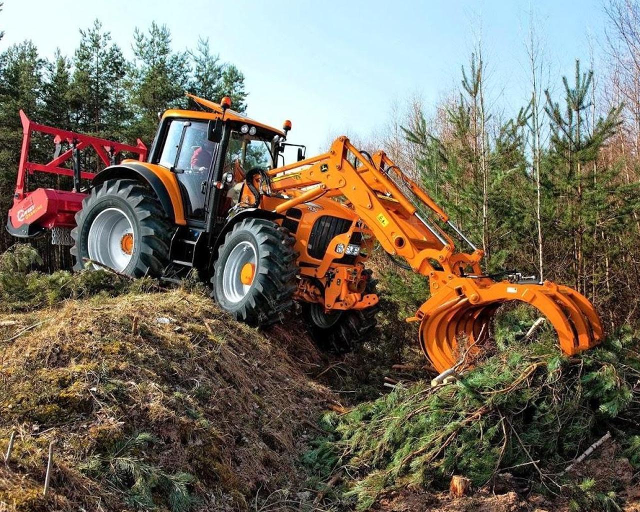 Puzzles Tractor John Deere 4 تصوير الشاشة
