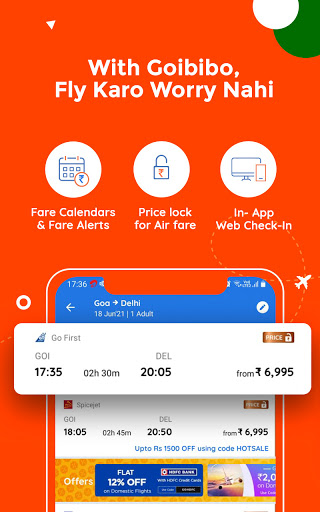 Goibibo Travel App-Hotel, Flight, IRCTC Train, Bus screenshot 3