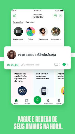 PicPay: Pagamentos, Transferências, Pix e Cashback screenshot 2