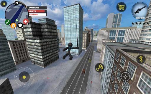 Stickman Rope Hero screenshot 1