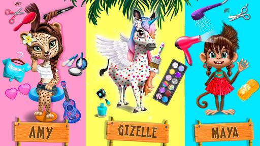 Jungle Animal Hair Salon 2 - Tropical Beauty Salon स्क्रीनशॉट 4