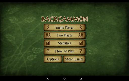 Backgammon Free 18 تصوير الشاشة