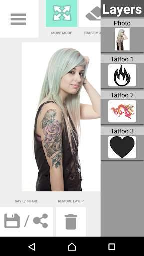 Tattoo my Photo 2.0 screenshot 10