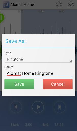 Ringdroid- Ringtone Maker MP3 Cutter Audio Cut screenshot 3