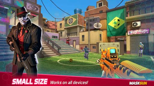 MaskGun Multiplayer FPS - Shooting Gun Games screenshot 5