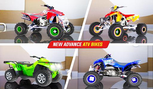 Light ATV Quad Bike Racing, Traffic Racing Games screenshot 14