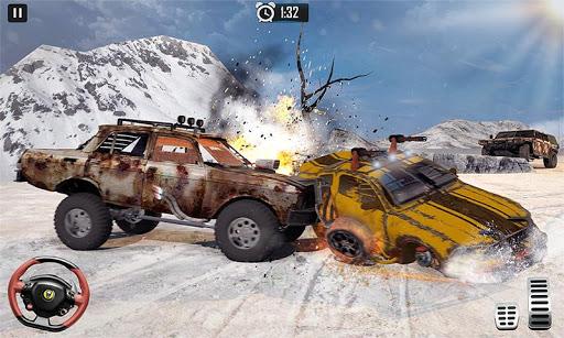 Furious Car Shooting Game: Snow Car war Games 2021 screenshot 7