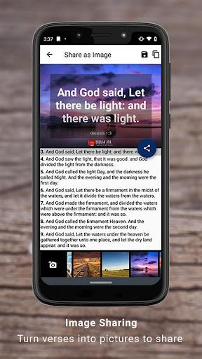 Bible Offline App Free   Audio, KJV, Daily Verse скриншот 7