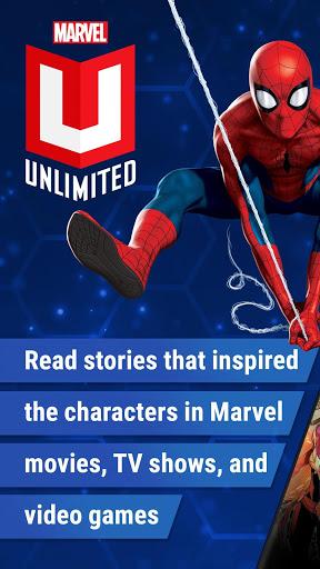 Marvel Unlimited 1 تصوير الشاشة