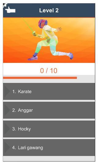 Olahraga Apa ? 4 تصوير الشاشة