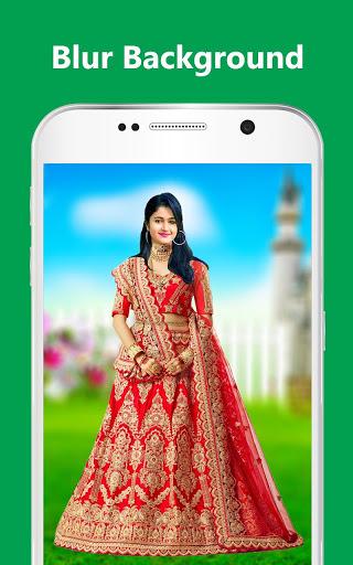Bridal Lehenga, Lehenga Choli & Saree Photo Editor screenshot 13