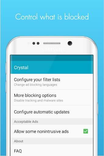 Crystal Adblock for Samsung screenshot 5