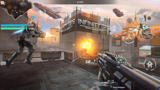 Infinity Ops: Online FPS Cyberpunk Shooter स्क्रीनशॉट 3