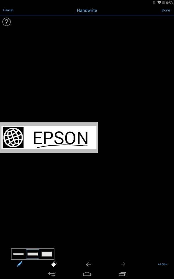 Epson iLabel screenshot 10