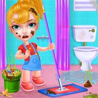 Keep Your House Clean - Girls Home Cleanup Game on 9Apps