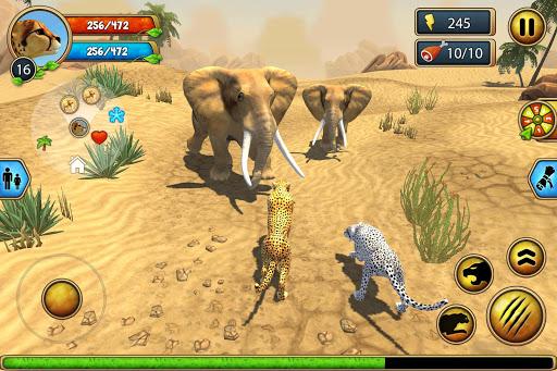 Cheetah Family Sim - Animal Simulator 7 تصوير الشاشة