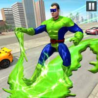 Green Slime Ninja Hero City:Strange Gangster Vegas on APKTom