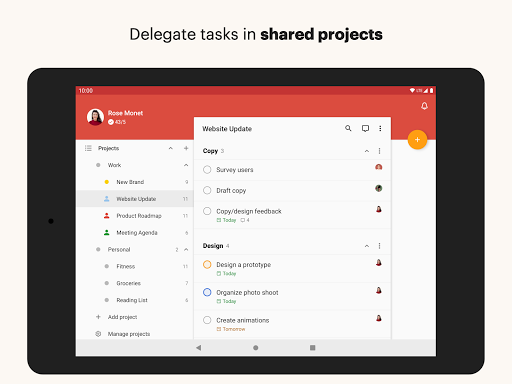 Todoist: To-Do List, Tasks & Reminders screenshot 9