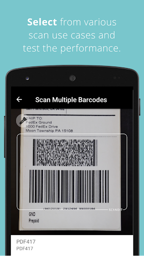 Scandit Barcode Scanner Demo screenshot 4