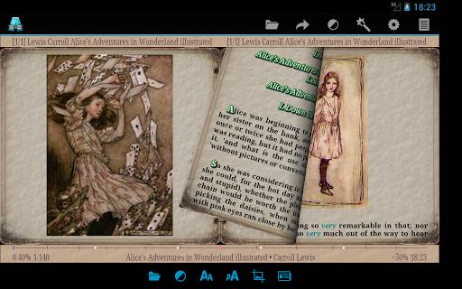 AlReader -any text book reader screenshot 17