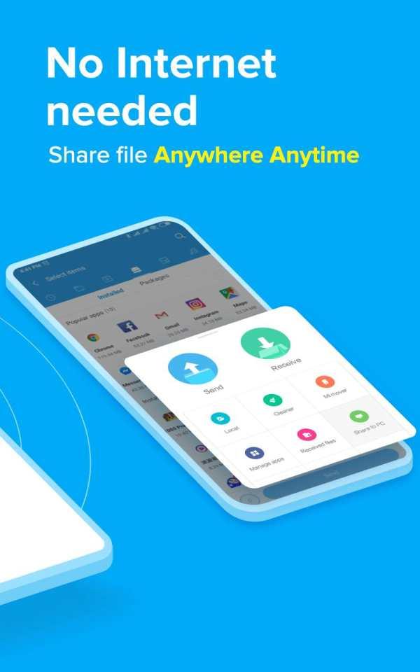ShareMe (MiDrop) - Transfer files without internet screenshot 2
