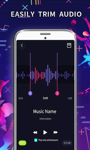 MP3 Editor: Cut Music, Video To Audio screenshot 2