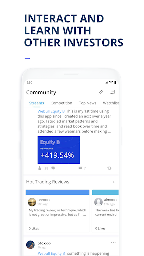 Webull: Investing & Trading. All Commission Free screenshot 8