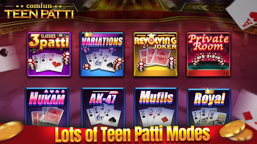 Teen Patti Comfun-Indian 3 Patti Card Game Online 2 تصوير الشاشة