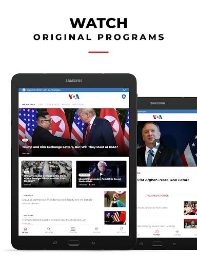 VOA News 9 تصوير الشاشة