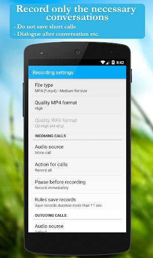 Call recorder: CallRec screenshot 5