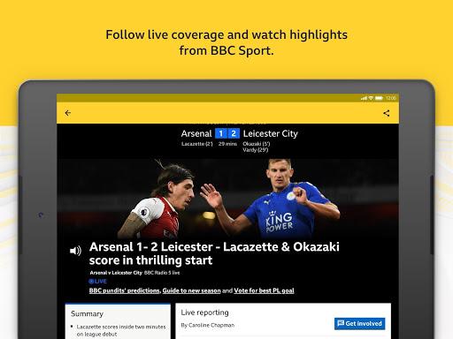 BBC Sport - News & Live Scores 12 تصوير الشاشة