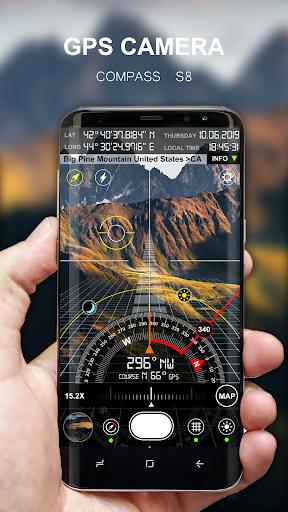 Compass S8 (GPS Camera) 1 تصوير الشاشة