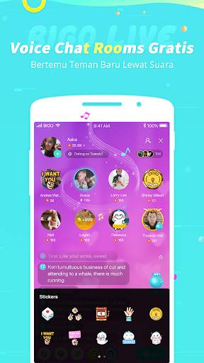 Bigo Live-#1 Live Streaming, Live Video, Live Chat screenshot 5