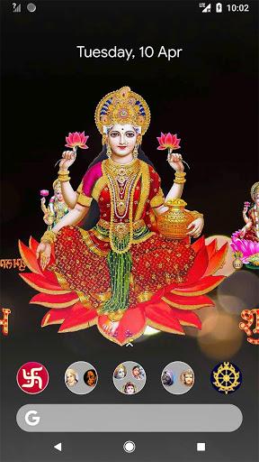 4D Lakshmi Live Wallpaper 1 تصوير الشاشة