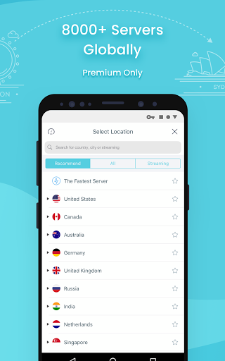 X-VPN - Free VPN proxy master & private browser screenshot 2