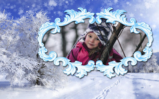 Winter Photo Frames screenshot 9