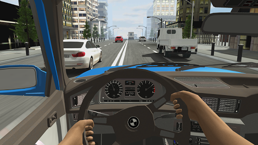 Racing in Car 2 screenshot 4