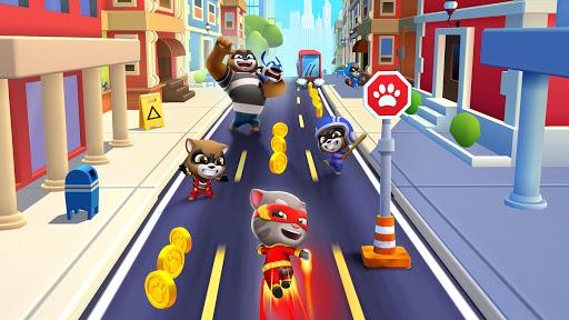 Talking Tom Hero Dash - Run Game screenshot 1